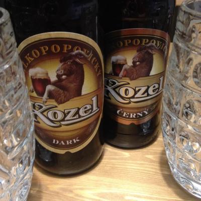 пиво козел из Пльзени