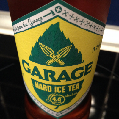 garage hard ice tea