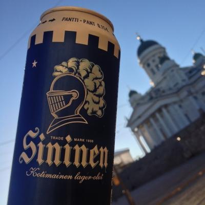 sininen пиво сининен