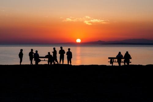 Закат на Кипре Капе Греко