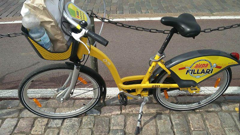 helsinki bike rent